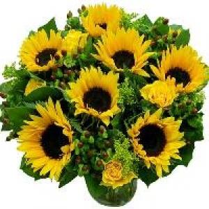 Bouquet girasoli