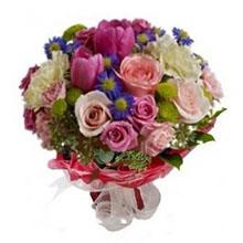 Bouquet fiori rosa