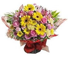 Bouquet flowers spring colors