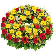 Corona fiori misti