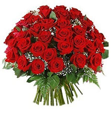 Bouquet 36 rose rosse
