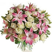 Bouquet rose e lilium