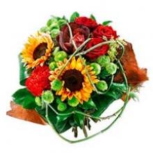 Aries zodiac bouquet